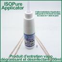 ISOPure Applicator 200ml - alcool isopropylique et 4 bâtonnets de nettoyage en coton