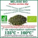 Plante médicinale pour phyto-vapo Mélisse Bio feuilles séchées
