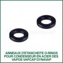 Anneaux-joints O-Rings x 2 pour condenseur en stainless steel VapCap