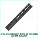 Stem Carbon Fiber 62mm fibre de carbone VapCap