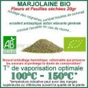 Aromathérapie vaporisateur Marjolaine Bio feuilles séchées à vaporiser