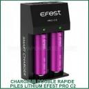 Chargeur Express accus lithium PRO C2 EFEST