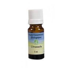 Huile essentielle de Citronnelle Bio Ecocert 5ml