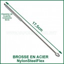 Brosse goupillon pour vaporisateur NylonSteelFlex