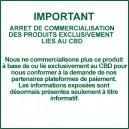 Cristaux de CBD -  isolat de cannabidiol 99% pur