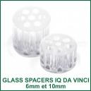 Glass Spacers pour vaporisateur IQ Da Vinci-réducteurs chambre en verre