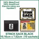 Stinck Sack Black - sachet étanche hermétique petit