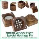 GR8TR WOOD RYOT - grinder qui hache finement en bois pollinisateur