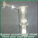 Side Draw bubbler portatif