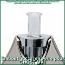 Embout buccal en verre vaporisateur Ghost MV1