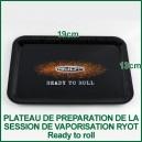 Plateau de préparation de session de vaporisation RYOT