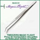 Tweezers Magic Flight - Outil de manipulation des grilles et filtres vaporisateur