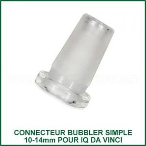 Connecteur bubbler 10-14mm pour IQ Da Vinci