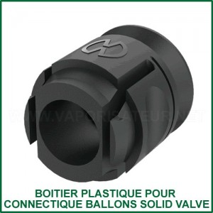 Boitier plastique de connectique ballon Volcano Solid Valve