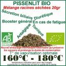 Racines séchées de Pissenlit Bio 20gr