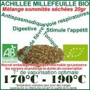 Sommités fleuries d'Achillée Millefeuille Bio 20gr