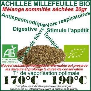 Sommités d'Achillée Millefeuille Bio 20gr