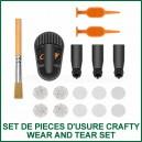 Set de pièces d'usure Crafty - Kit d'accessoires Wear and Tear