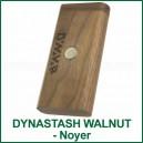 Dynastash Walnut socle-stand et boite magnétique et boite en bois pour DynaVap