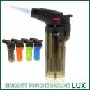Briquet torche à bec incliné LUX pour vaporizers VapCap, Vaporgenie, VapMan