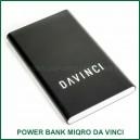Power Bank 6000mAh pour vaporisateur MIQRO Da Vinci