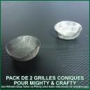 Filtres coniques x 2 pour vaporisateur Mighty ou Crafty