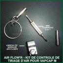 Air Flow'R Set de contrôle de tirage d'air pour VapCap M