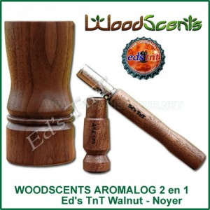 Vaporisateur log 2 en 1 WoodScents AromaLog