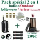 Pack Indoor-Outdoor Arizer Extreme Q/Iolite Original
