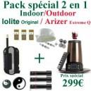 Pack Indoor-Outdoor Arizer Extreme Q/Iolite Original