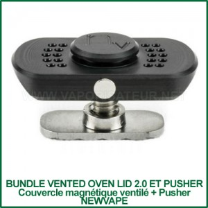Bundle Vented Oven Lid 2.0 et Pusher NewVape