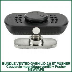 Bundle Vented Oven Lid 2.0 et Pusher NewVape