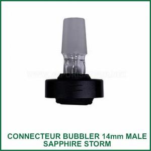 Embout connecteur bubbler 14mm pour vaporisateur Sapphire Storm