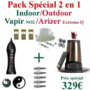 Pack Indoor-Outdoor Vapir NO2/Arizer Extreme Q