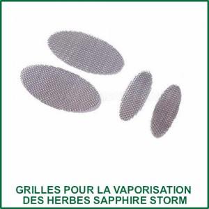 Grilles pour la vaporisation des herbes Sapphire Storm