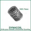 DynaCoil - grille en titane en spirale pour huile et extraits DynaVap
