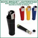 Briquet-Boite LighterStash pour herbes à vaporiser