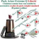Pack Arizer Extreme Q Liberté vaporisateur sur mesure
