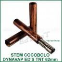 Stem en bois de Cocobolo 62mm DynaVap VapCap  Ed's TnT