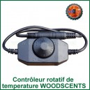 Contrôleur rotatif de température Dimmer WoodScents Ed's TnT