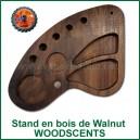 Stand en bois Walnut pour WoodScents et accessoires