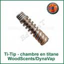 Chambre de vaporisation Ti-Tip DynaVap en titane WoodScents