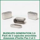 BudKups 3.0 Capsules doseuses pour Pax 2 et Pax 3
