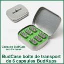Bud Case Boite de rangement pour 6 capsules BudKups