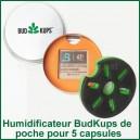 Boite humidifiante de capsules doseuses BudKups pour Pax 2 ou Pax 3