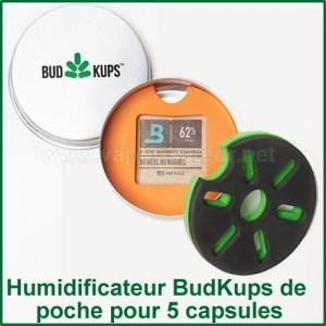 Humidificateur de capsules doseuses BudKups pour Pax 2 ou Pax 3