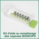 Kit d'aide au remplissage des capsules BudKups pour Pax 2 et Pax 3