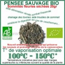 Plante médicinale à inhaler au vapo Pensée Sauvage Bio somités fleuries