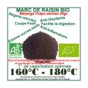 Pulpe séchée déshydratée de Marc de Raisin Bio 20gr