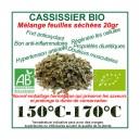 Feuilles séchées du Cassissier Bio vrac 20gr